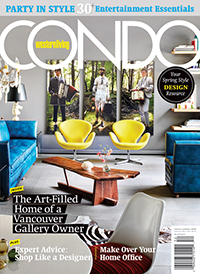 Cover of Western Living Condo Magazine 2015 Spring Summer
